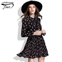 New Arrival Hot Sale 2017 Women Elegant Casual Plus Size Slim Dress Fashion Long Sleeve Spring