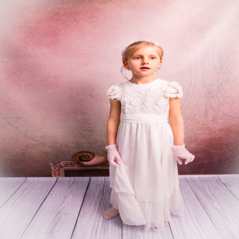 A-Line Flower Girls Dresses For Wedding Tulle Kids Evening Gown Lace Communion Dresses Girls Clothes Mother Daughter Dresses a line flower girls dresses for wedding gown white mother daughter dresses tulle first communion dresses for girls