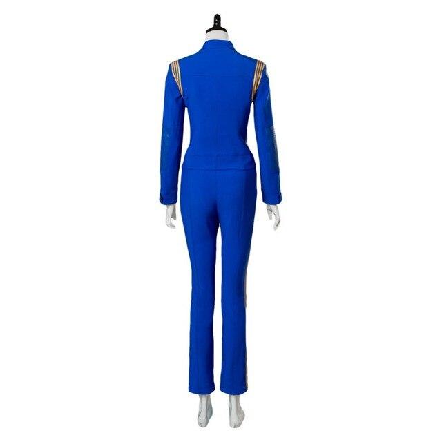 Star Trek Discovery Cosplay Michael Burnham Cosplay Costume Womens Crewman Sets Uniform 3