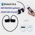 003 MP3-плеер беспроводная гарнитура Bluetooth наушники спортивные стереонаушники 8 GB/16G/32G музыкальный плеер