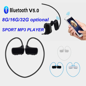 003 MP3 Player Wireless Headset Bluetooth Headphone Stereo Sport Earphone 8GB/16G Music Player