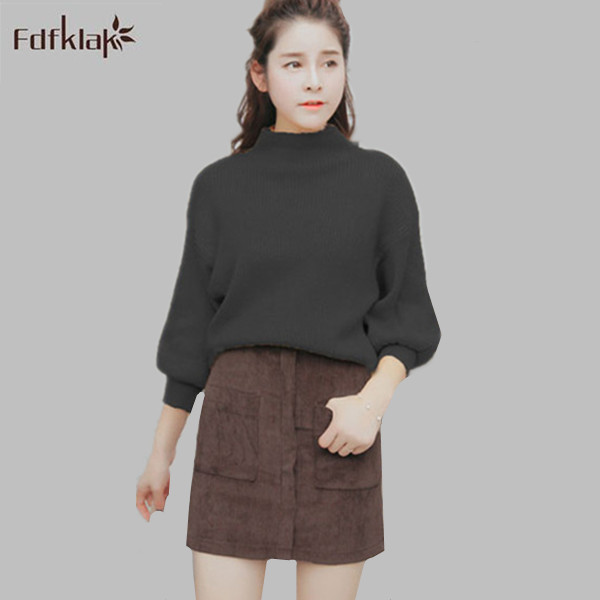 2017 Pull femme Women Sweater Pullovers Autumn Winter Oversized Sweaters  Korean Style Loose Fashion Knitted Cashmere Tops 01e6a6e13
