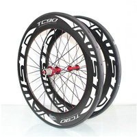 AWST 88mm Carbon Wheels 700C Clincher Carbon Road Bike Wheels 23mm Width Chinese Full Carbon Bicycle