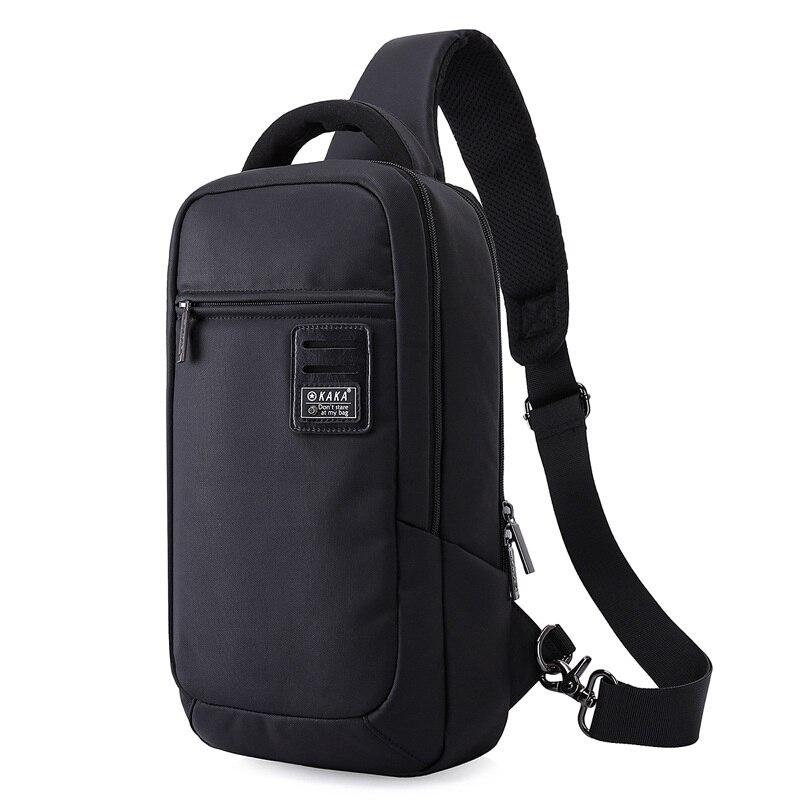M039 2017 New Fashion Crossbody Bags For Men Messenger Chest Bag Pack Casual Bag Waterproof Nylon Single Shoulder Strap Pack