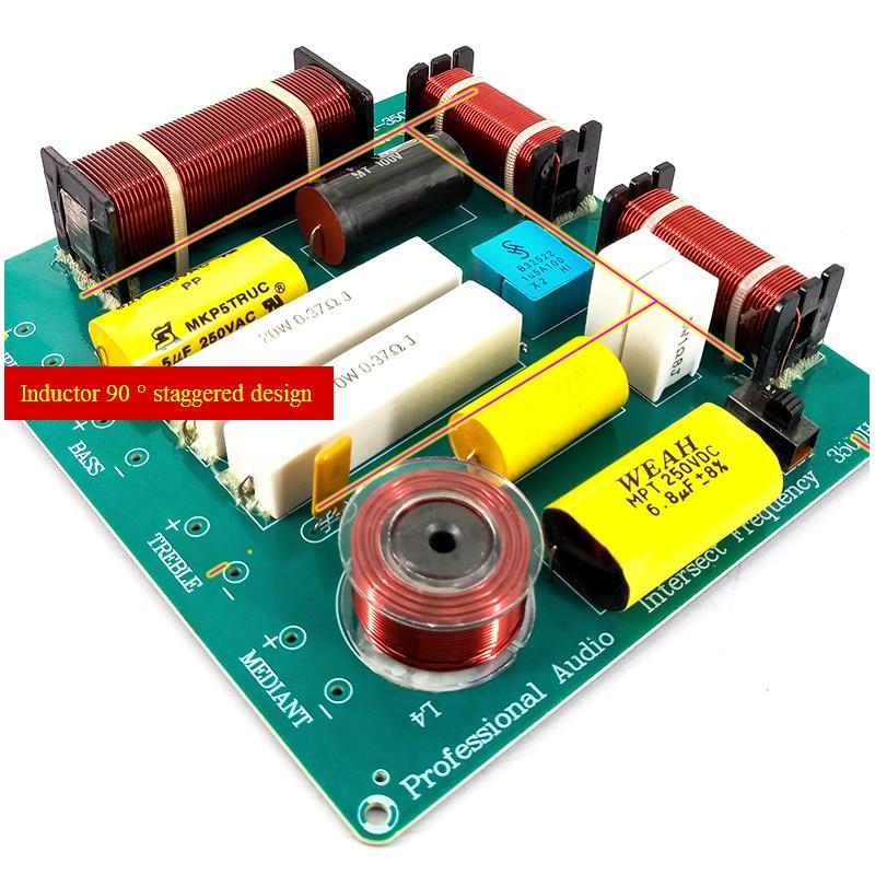 AIYIMA 1Pcs 300W 3way Frequency Board Bord KTV Faza Folësi Crossover - Audio dhe video në shtëpi - Foto 3