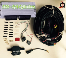 CNG LPG conversion kit for cars for 3/4 cylinders Electronic control system AC300 cng kit lpg kit petrol to gas