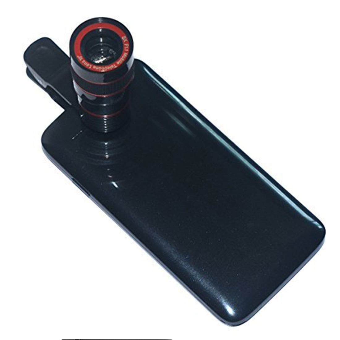 Универсальный 8X оптический зум телескоп объектив камеры для iPhone мобильный телефон объектив с зажимом для смартфонов samsung Xiaomi