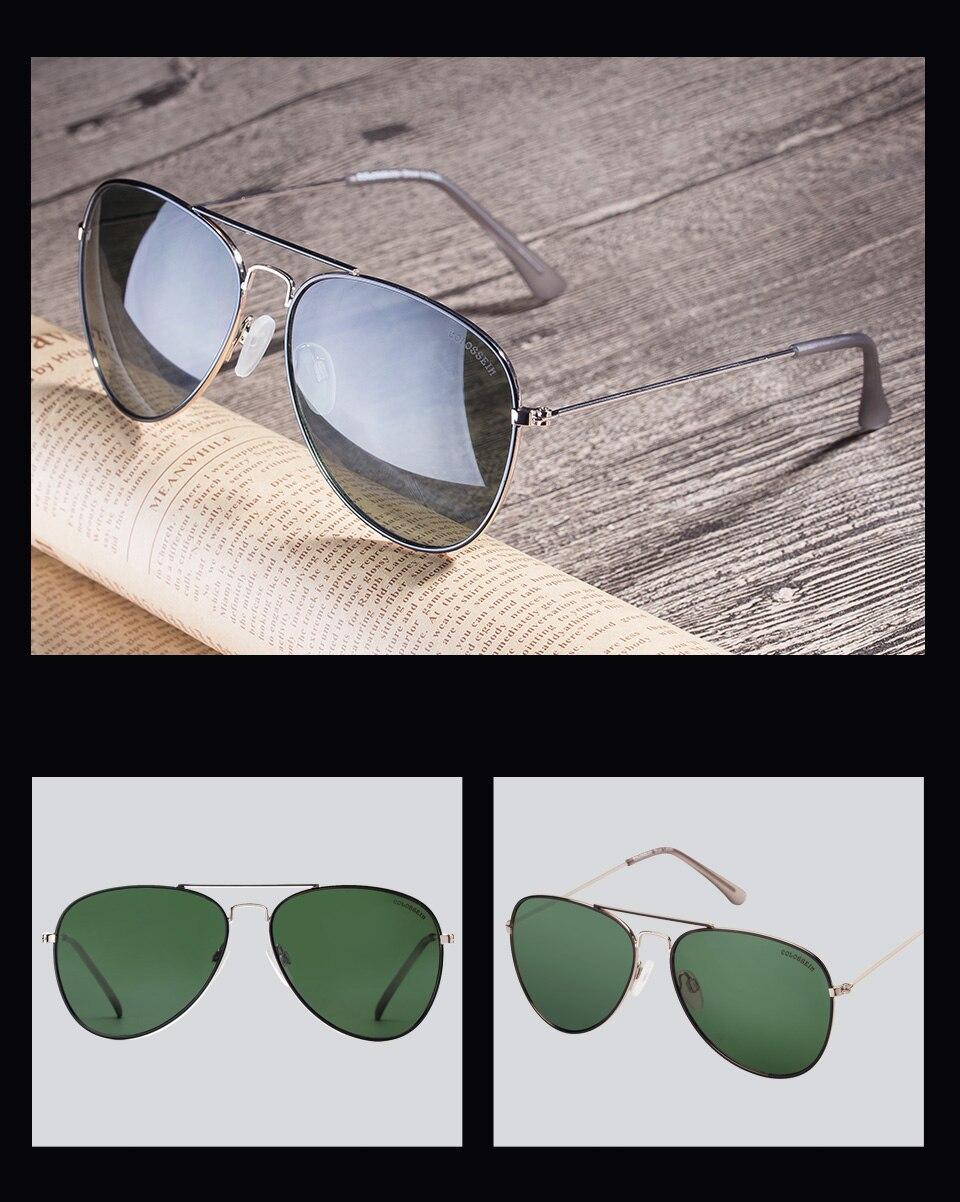 81fc480e4245f Compre COLOSSEIN Piloto Sunglasses For Unisex Revestimento UV400 ...
