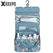 Hanging Travel Cosmetic Bag Women Zipper Make Up Bags Polyester High Capacity Makeup Case handbag Organizer Storage Wash Bag