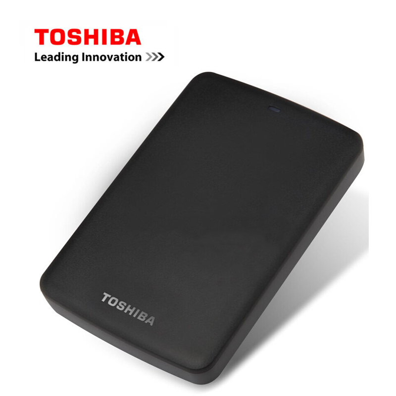 TOSHIBA Canvio Basics USB 3.0 2.5 SATA3 2TB 1TB 500GB Portable External Hard Disk Drive ABS Case HDD for Desktop Laptop 1 usb playstation 3 sony ps3 yks x536