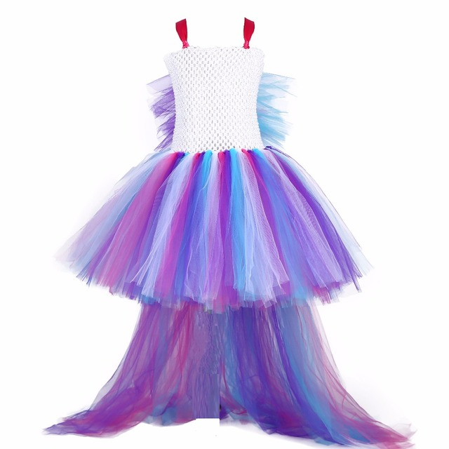 Colorful Princess Tulle Dress