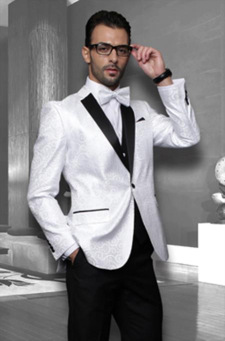 Compare Prices on White Jacket Black Pants Tuxedo- Online Shopping ...