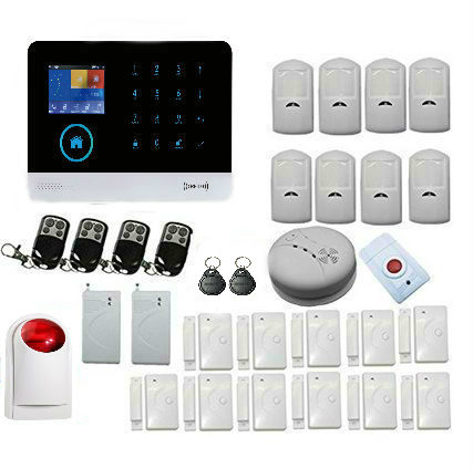 Yobang Security APP Smarts Alarm system Russian English spanish Wireless wifi  Home security alarm GSM alarm system market smarts
