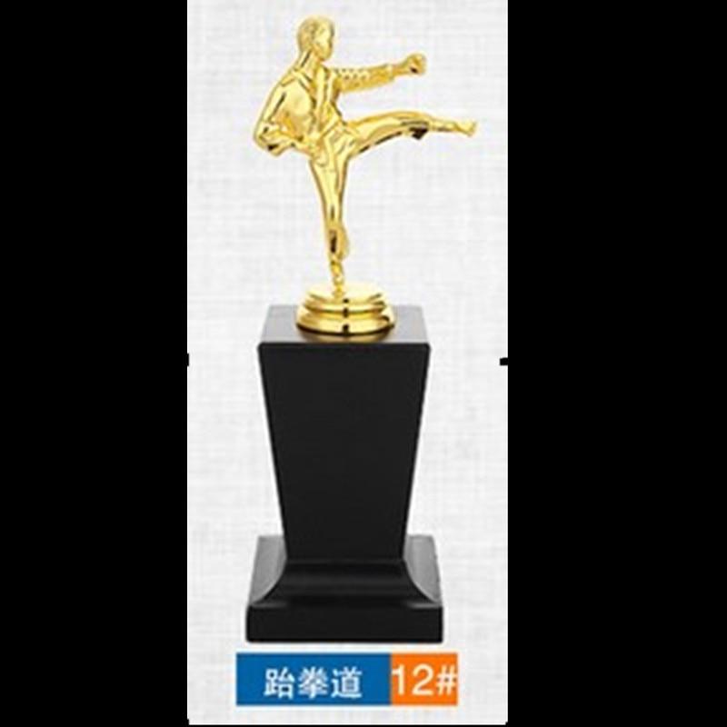 1 шт. трофей с позолотой Немагнитный кикбоксинг тхэквондо музыка Риддер Баскетбол Гольф  ...
