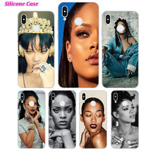Silicone Case Sexy pop star Rihanna for Huawei P Smart 2019 Plus P30 P20 P10 P9 P8 Lite Mate 20 10 Pro Lite Nova 3i Cover цены