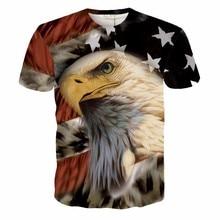 2017 casual American Eagle hiphop male concert shirt O-neck sweatshirt 3d print women/men cartoon pullover summer Tees T-shirts