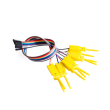 10pcs,Quality test of the quality test hook clip. Logic analyzer test folder. For USB 24M 8CH(China)