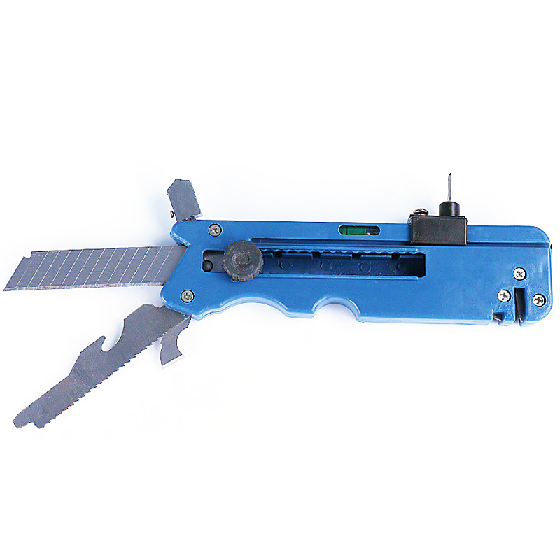 Professiona Glass Cutter Six Wheel Metal Cutting Kit Tool Multifunction Tile Plastic Cutter