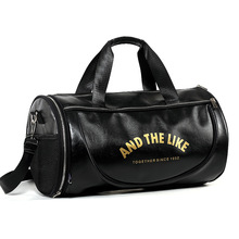 2016 New Arrival Pu Leather Handbags For Men Large-Capacity Portable Shoulder Bags Men's Casual Travel Bags Duffle male bag