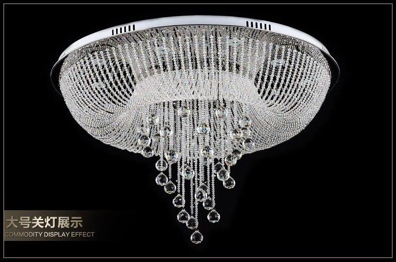 White Foyer Lighting : Top class hotel lustre crystal led chandelier foyer lighting modern