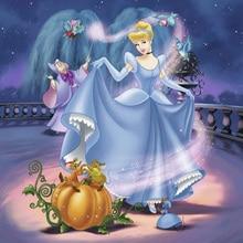 5D Diamond Painting Cross Stitch Cartoon Princess Dance Diy Full Diamond Embroidery Needlework Diamond Mosaic Home Decor FG078