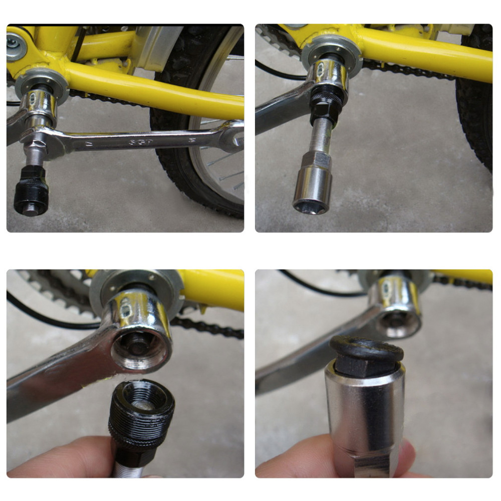 Bike Bicycle Crankset Crank Arm Puller Remover Repair Removal Wrench Tool