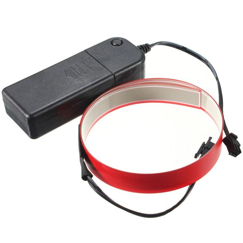 AA Battery Power Colorful Flexible Electroluminescent Tape EL Tape EL Wire White/Blue/Red/Pink/Purple/Green/Lemon green/Yellow неоновая продукция amazing 150 el el el 2pcs aa amazingw 118