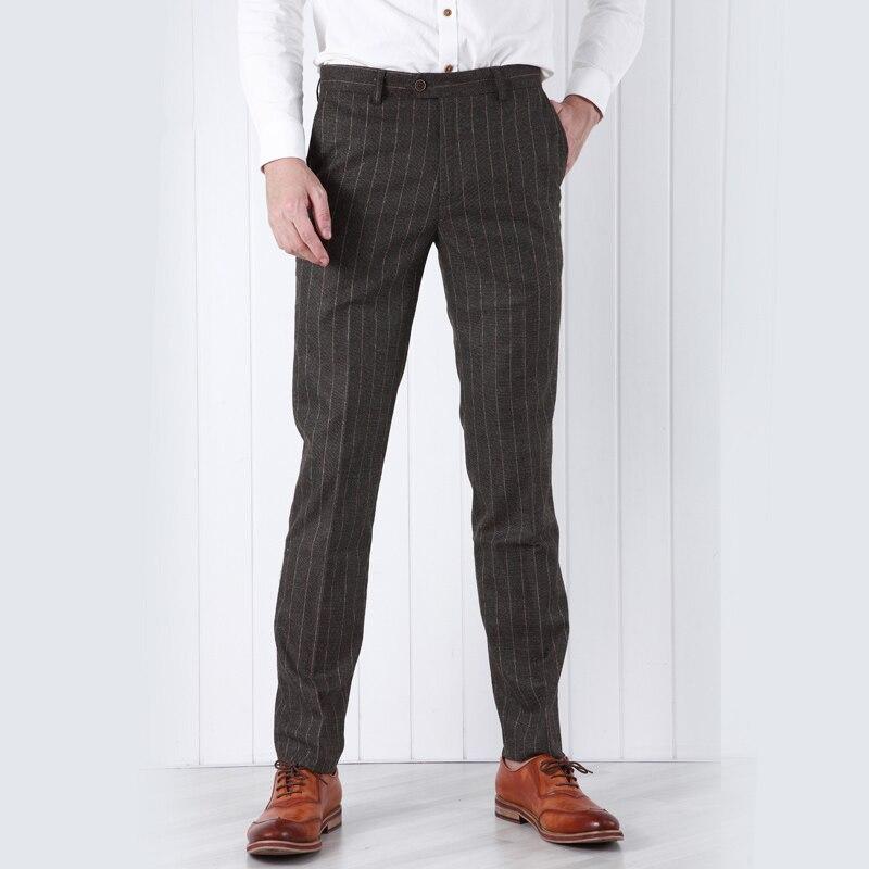 Brown Suit Pants Suit La