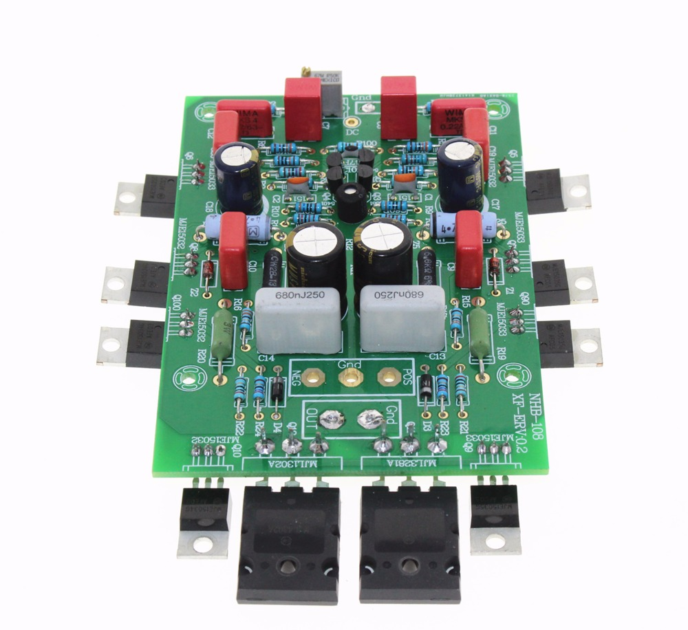 QUEENWAY Study/Copy Switzerland dartzeel NHB-108 HIFI Power Amplifier Board music hall professional hi end power amplifier stereo hifi amp reference dartzeel nhb 108b circuit