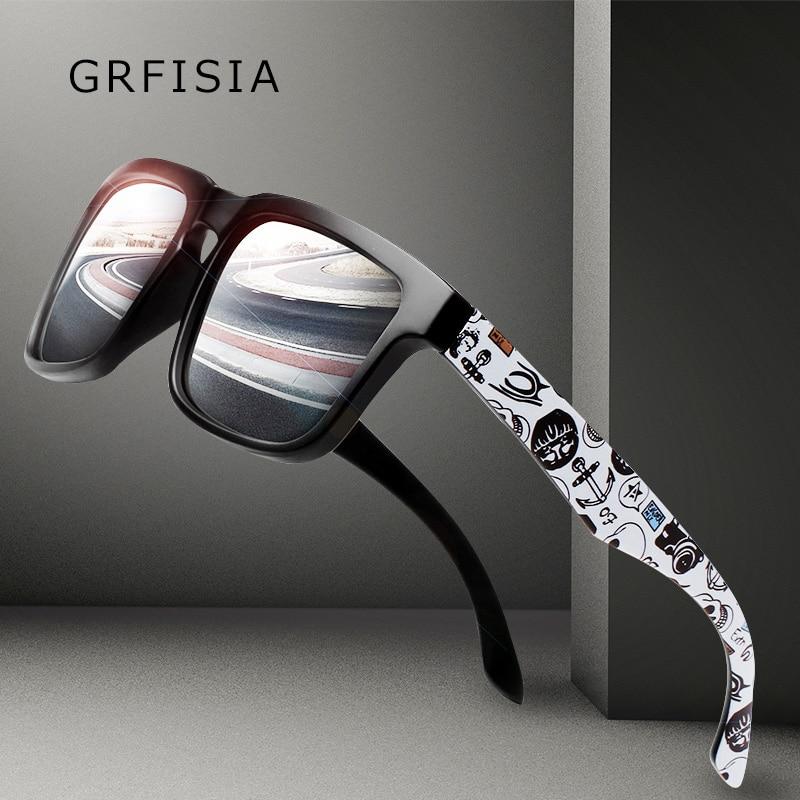 GRFISIA Klasszikus Polarizált Napszemüvegek Férfiak Vándorlás - Ruházati kiegészítők