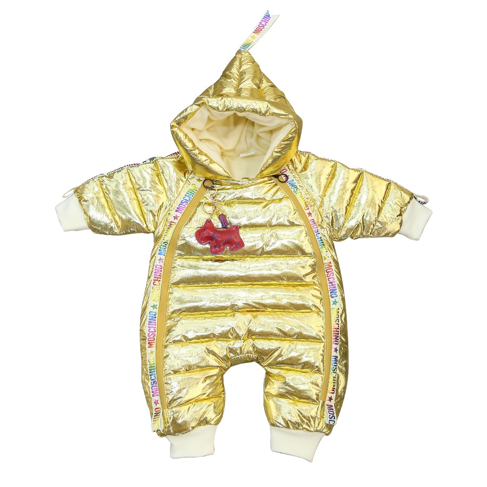 d99f3f30a6af Newest baby jumpsuits boys girls winter overalls toddler rompers ...