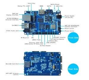 Image 5 - Allwinner placa individual A83T Banana Pi M3 con 8G EMMC
