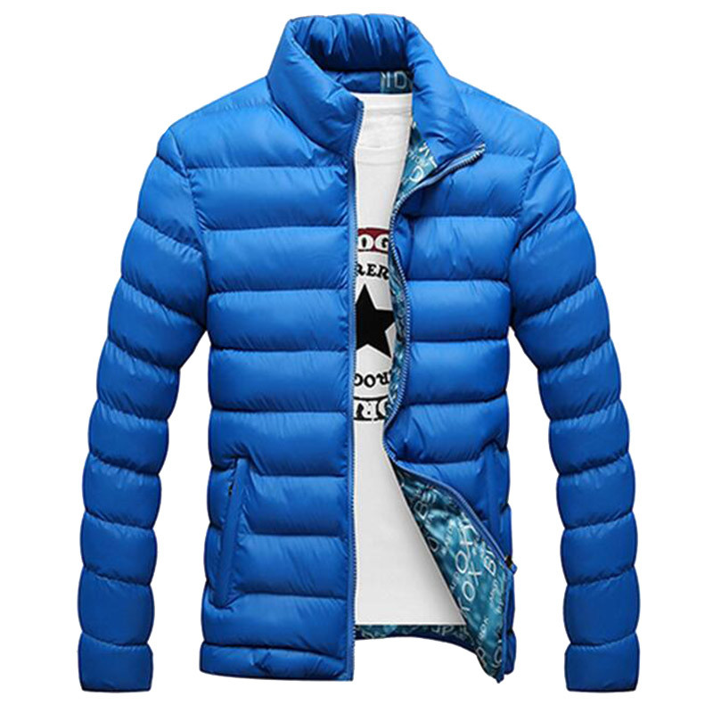 New Fashion Mens Winter Coat Plu Size M 4XL Slim Fit Winter Ourdoor Jackets For Man