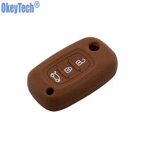 Image 5 - OkeyTech silikon araba anahtarı kapağı LADA Vesta için Granta XRay Kalina Priora Sedan Spor Renault için fit Benz Anahtar Vaka Koruyucu