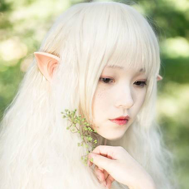 Halloween Costume Party Fairy Elf Pixie Alien Fake Pointed Ears