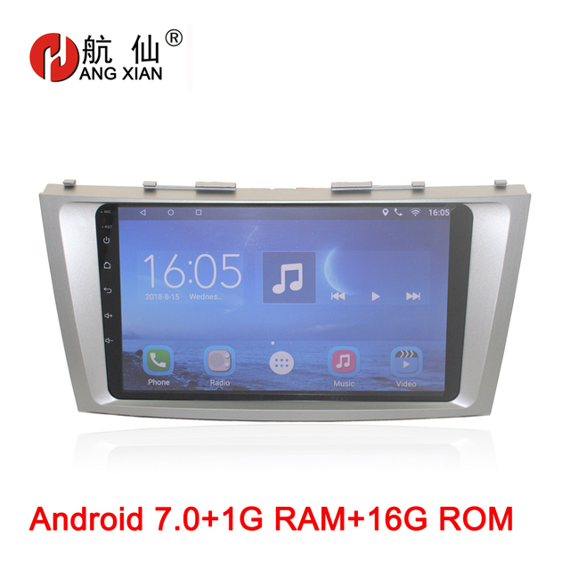 Android 7.0 car radio multimedia player For Toyota Camry AURION V40 2006 2007 2008 2009 2010 2011 car dvd gps navigation stereo