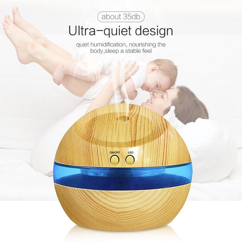 USB Ultrasone luchtbevochtiger, 300ml Aroma Diffuser Etherische olie - Huishoudapparaten - Foto 5