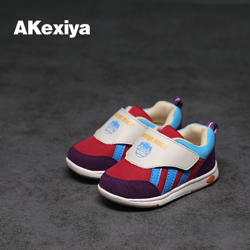 ФОТО 2017 Children's Shoes Wholesale Autumn Boys Girls Child Baby Shoes Casual Sports Running