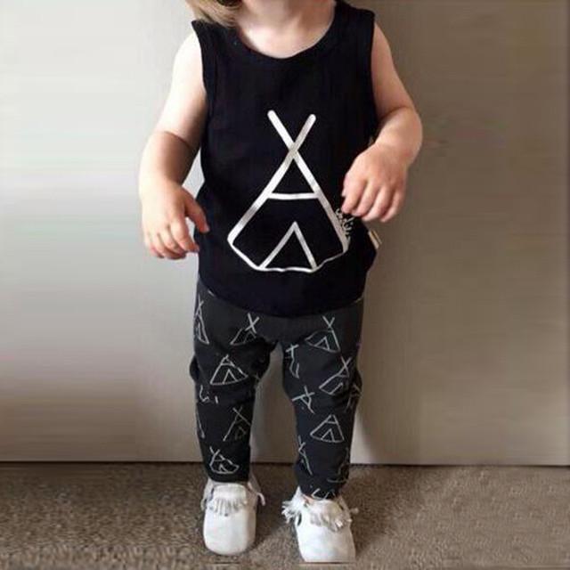 Estilos de verão Do Bebê define bebê curto shirt + calças 2 pcs meninos meninas agasalho completo Casual Crianças definir a roupa do bebê