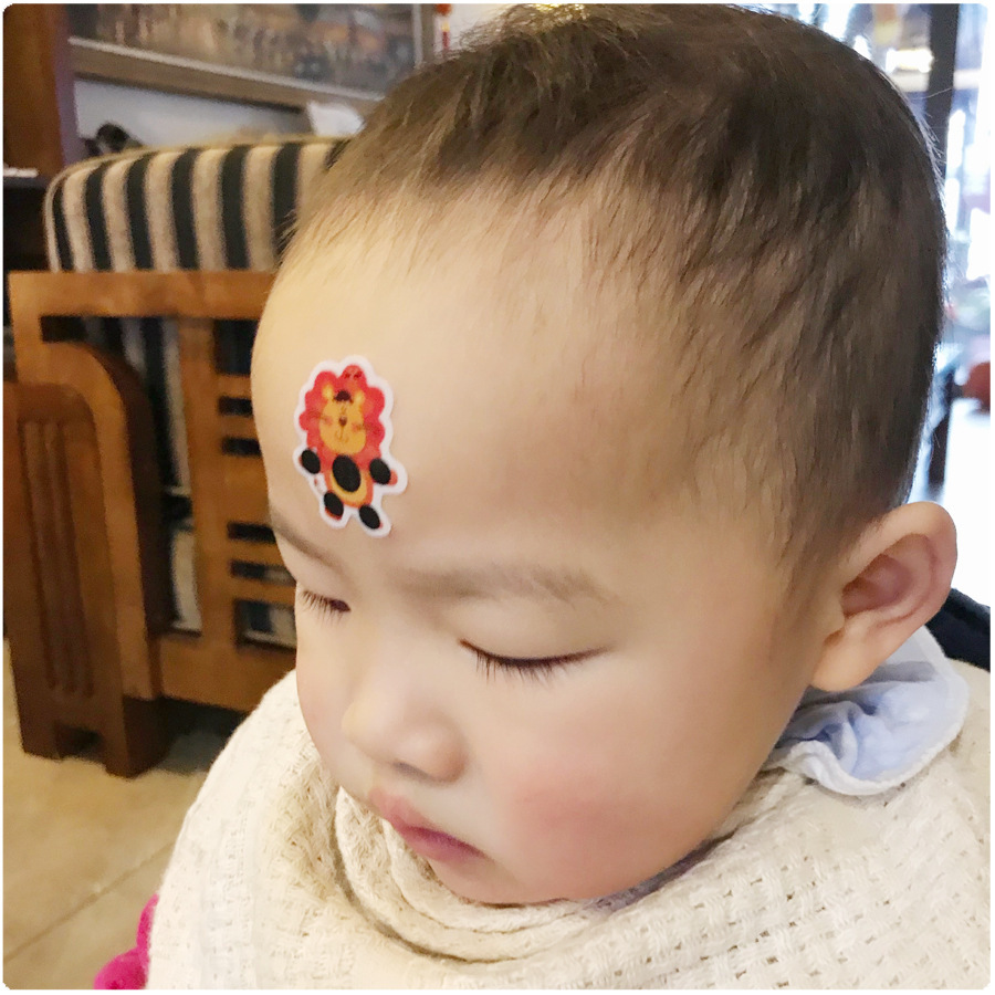 3 Pcs Head Fever Forehead Thermometer  Baby Infant Thermometer Forehead Strip Child Kids For Body Accessories Test Tool