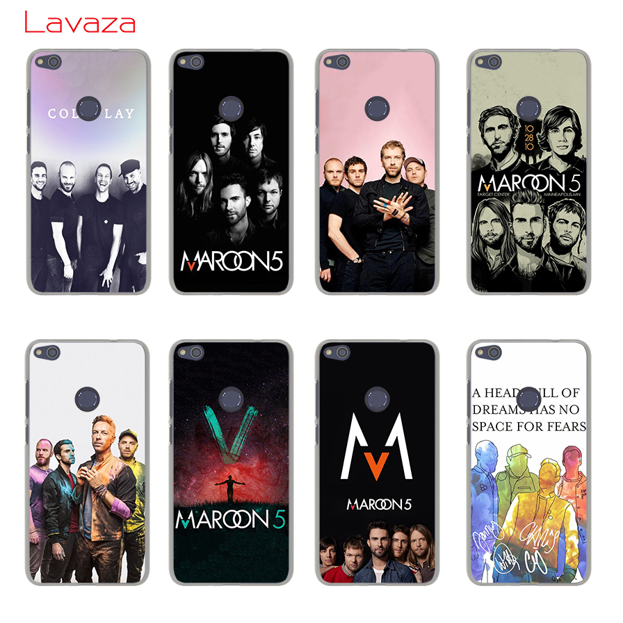 Lavaza Maroon 5 Hard Phone Case for Huawei Mate 10 Lite Pro G7 & Honor 10 9 8 Lite 7 7X 6 6A 6X 6C 4X 4C Cover