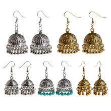 Ethnic Earrings Dome Pendant Tassel Exquisite Elegant Vintage Charms Women Jewelry Dangle India Cage Drop Fashion