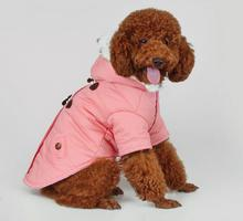 1pcs pet dog cat warm coats apparel doggy autumn winter jackets clothes puppy outwear dogs cats hoodies overcoat clothing XS-XXL