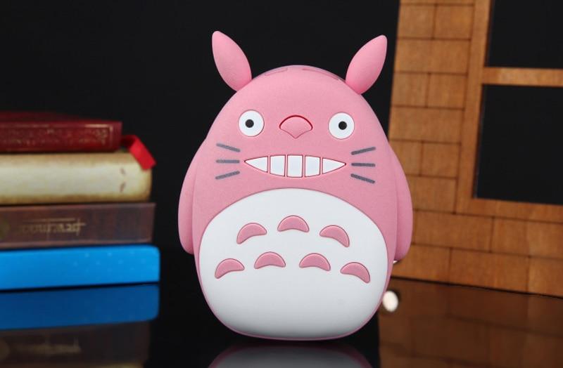 DoSHIN Hot Sale 2016 New 10000mAh Power Bank Cute Totoro Portable font b battery b font