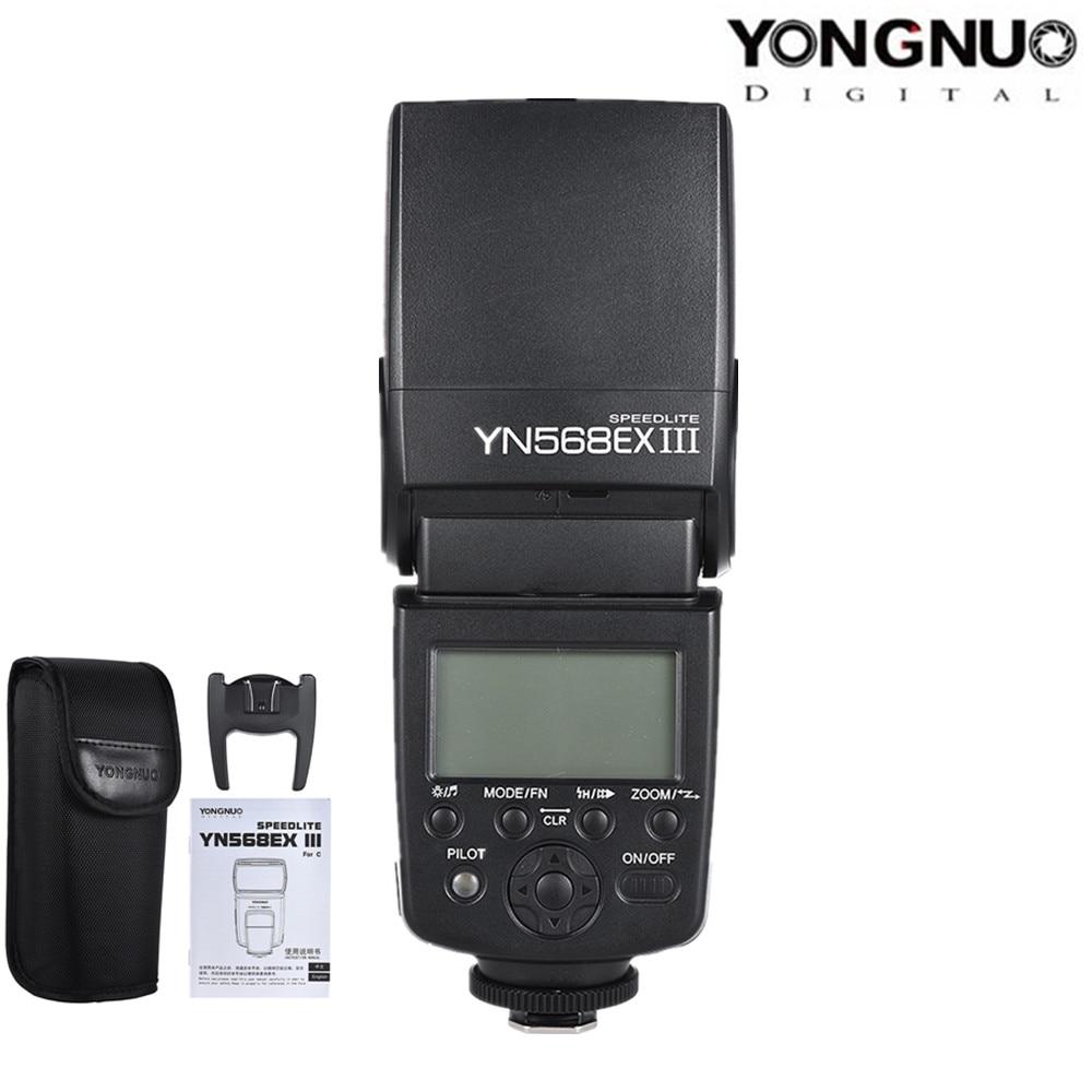 YONGNUO YN-568EX II YN568EX III Wireless TTL HSS Flash Speedlite for Canon 1100d 650d 600d 700d for Nikon D800 D750 D7100 yongnuo yn685 yn 685 wireless hss i ttl flash speedlite for canon 1300d 1100d 6d 5d mark iii for nikon d5300 d7200 d3400 d7000