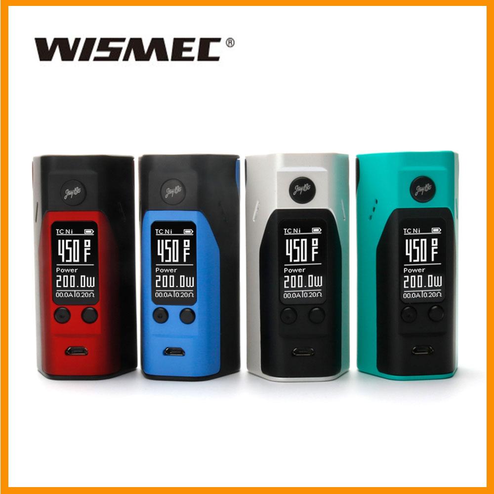 Prix pour D'origine wismec reuleaux rx200s mod amélioré vs rx2/3 rx300s extensible 510 fil vaporisateur elektronik sigara