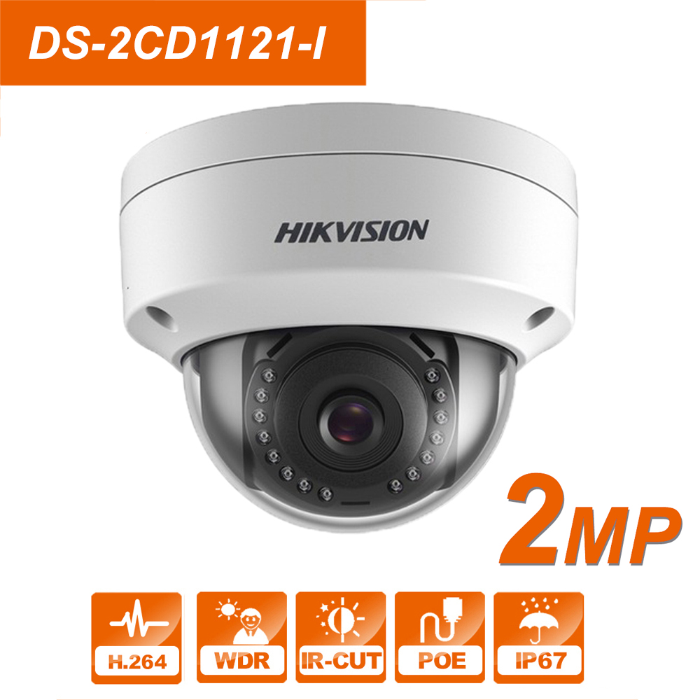 HIK Original English CCTV Camera DS-2CD1121-I replace DS-2CD2125F-IS 2MP Mini Dome IP Camera POE IP67 Firmware UpgradeableHIK Original English CCTV Camera DS-2CD1121-I replace DS-2CD2125F-IS 2MP Mini Dome IP Camera POE IP67 Firmware Upgradeable