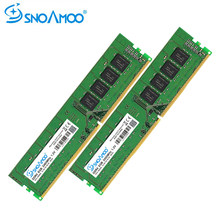 SNOAMOO Desktop PC RAMs DDR4 8GB 2400MHz CL16 CL15 PC4-19200S 1.2V 2Rx8 288-Pin DIMM ARM For Desktop Memory Stick Compatible PC(China)