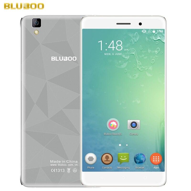 3000mAh BLUBOO Maya ROM 16GB RAM 2GB WCDMA 3G 5 5 Android 6 0 MTK6580A Quad
