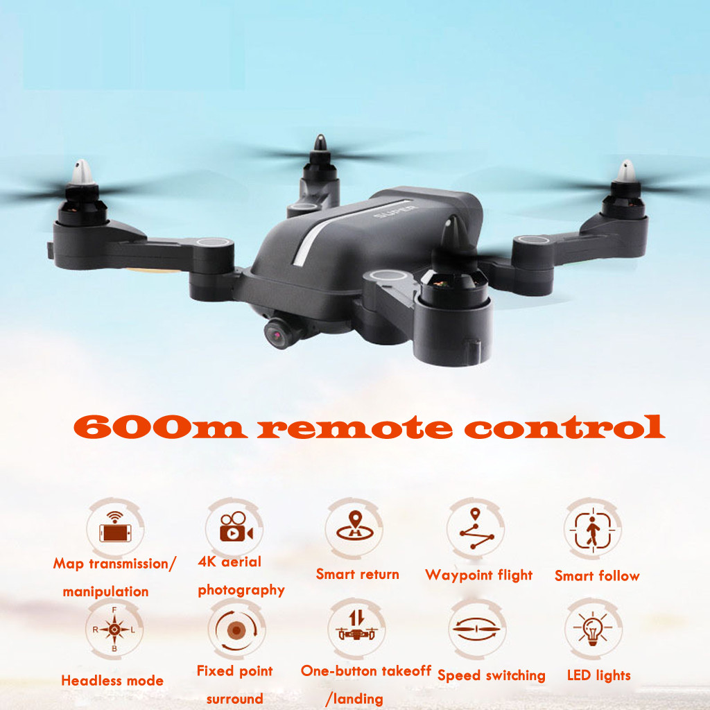 Image 5 - 2019 helicopter X 328 Wifi HD 4K 120° wide angle Camera Double GPS Altitude Hold Brushless Quadc With Camera hd helicopter-in RC Helicopters from Toys & Hobbies